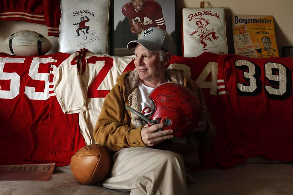 49ers collector Martin Jacobs