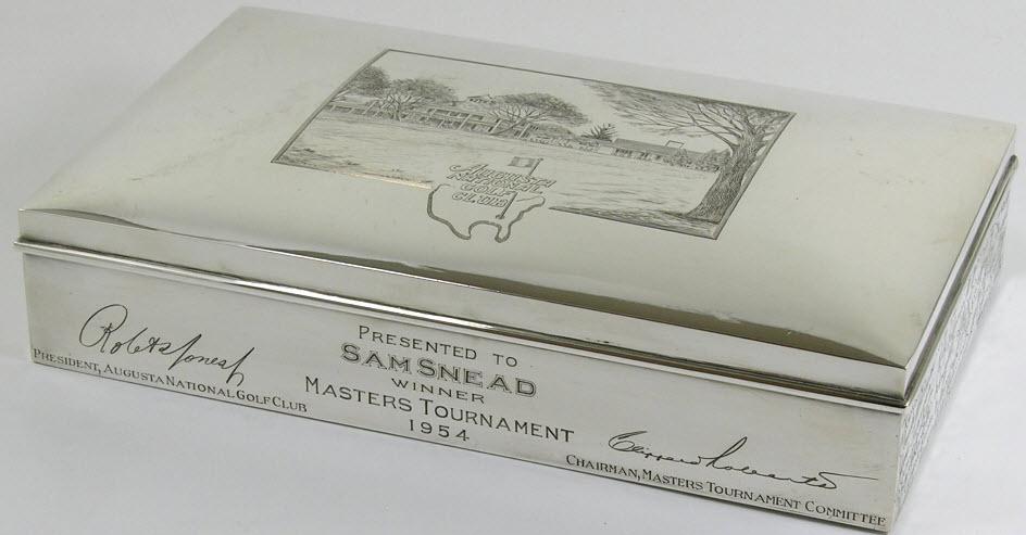 Sam Snead Masters humidor 1954