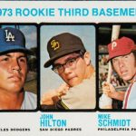 Mike Schmidt rookie card 1973 Topps