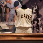 1960 Bill Mazeroski World Series uniform bat