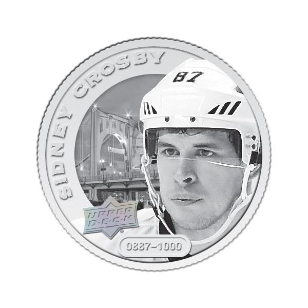 Sidney Crosby Grandeur silver coin