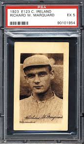 Rube Marquard 1923 Curtis Ireland