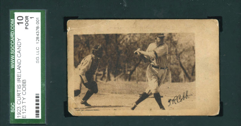 1923 Curtis Ireland Candy Ty Cobb