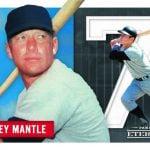 Mickey Mantle Panini Eternal card