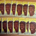 Jackie Robinson 1954 Topps cards