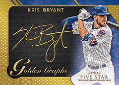 Kris Bryant 2017 Topps Five Star Golden Graph