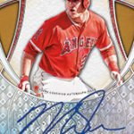 Mike Trout base auto 2017 Topps Five Star