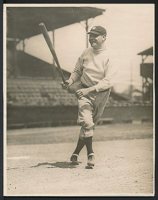 Early 1920s Babe Ruth photograph