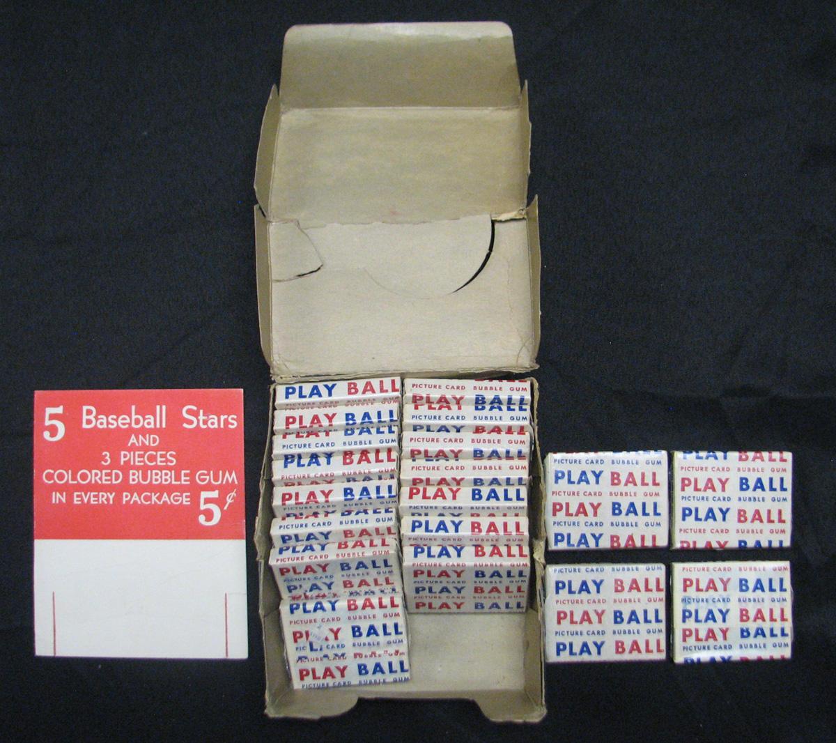 Bowman 1948 baseball box packs