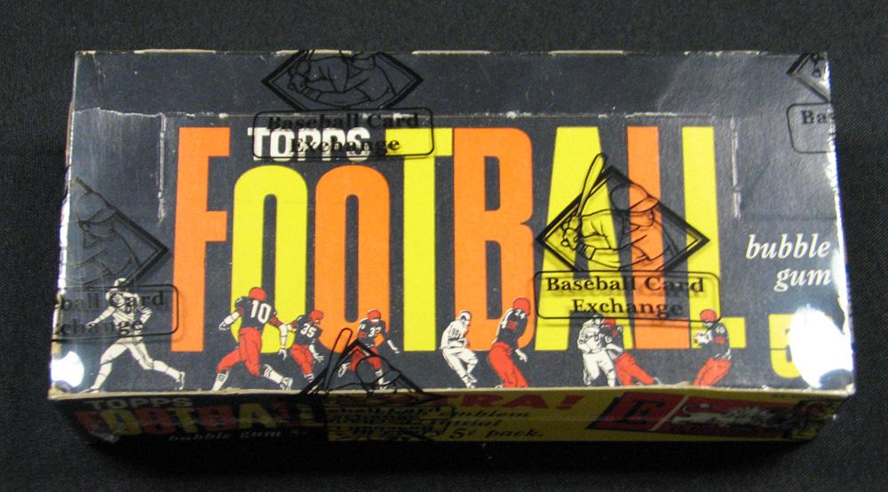 Unopened 1961 Topps football box