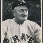 1930s George Burke photo Honus Wagner