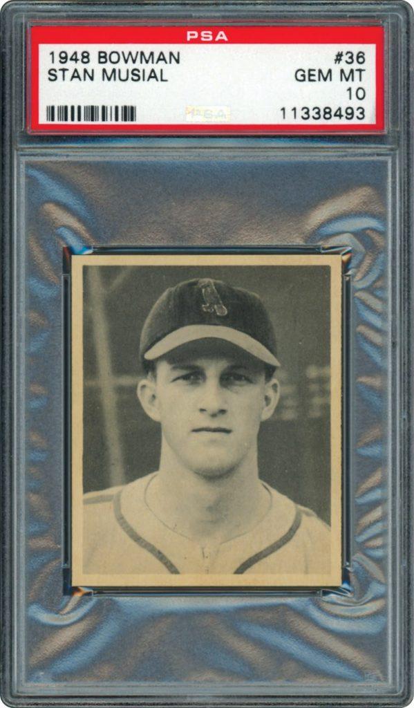 Stan Musial 1948 Bowman PSA 10