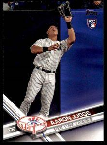 Aaron Judge 2017 Topps rookie card base