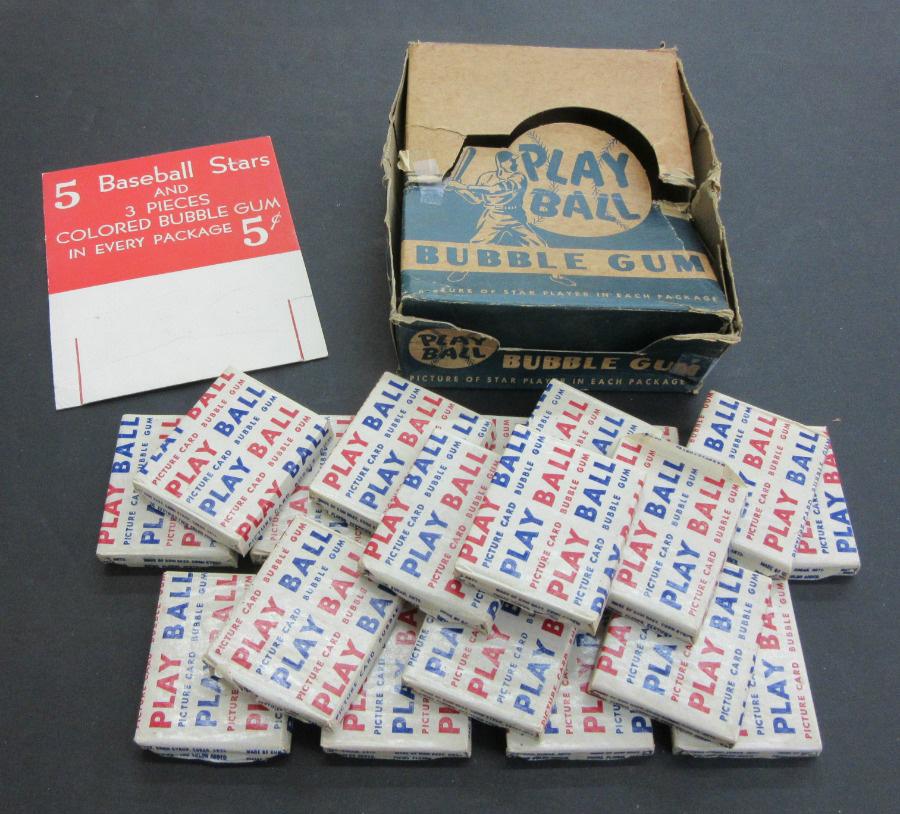 Bowman 1948 baseball card box