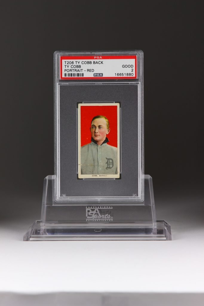 T206 Ty Cobb Back David Hall Collection