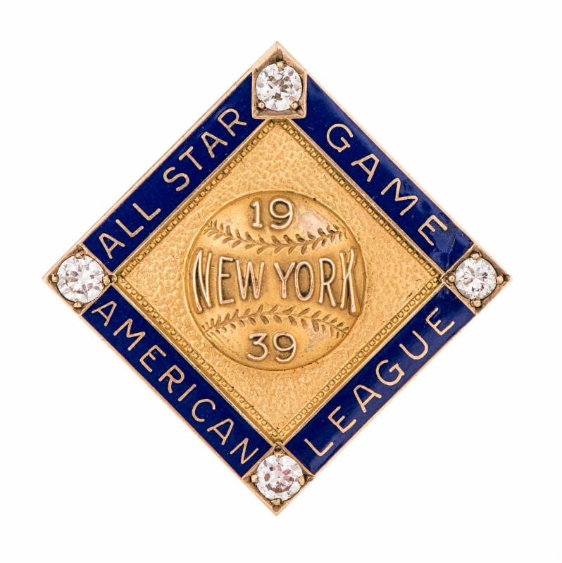 Lou Gehrig 1939 All Star pin