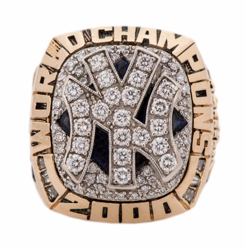 2000 Yankees World Series ring Don Zimmer