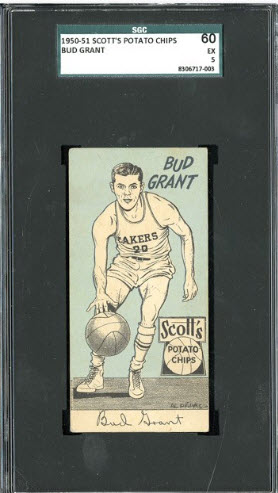 1950-51 Scotts Lakers Bud Grant