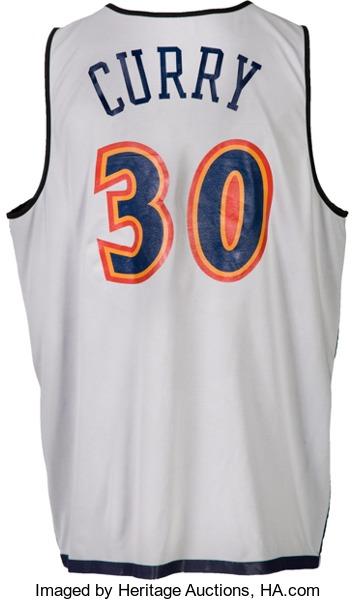 2009 Summer League Steph Curry jersey