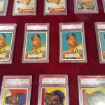 Mickey Mantle 1952 Topps cards