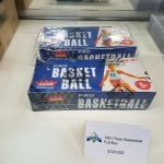 Fleer basketball unopened box 1961