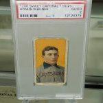Honus Wagner baseball card T206 PSA 2