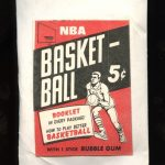 Topps 1968-69 Test Basketball Unopened Pack