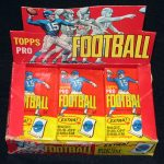 Topps 1965 football wax