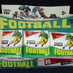 Topps 1964 football wax box