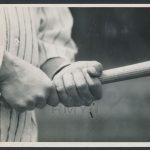 Charles Conlon Babe Ruth grip photo