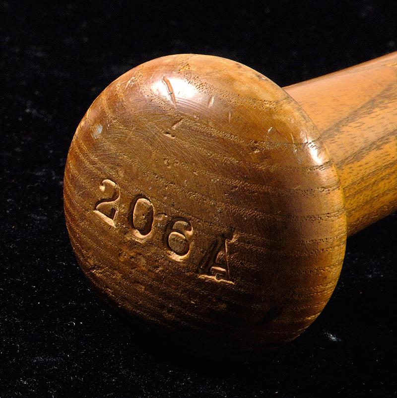 1950s Mickey Mantle bat knob