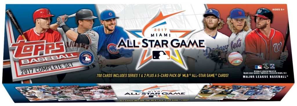 Topps 2017 Factory set all star edition