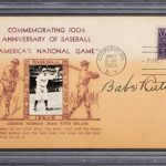 Autographed 1939 Babe Ruth first day cover