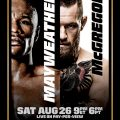Mayweather-McGregor Topps trading card