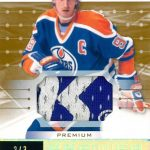 2017-18 Upper Deck Premier Wayne Gretzky auto patch
