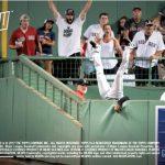 2017 Topps NOW Austin Jackson catch baseball card