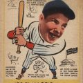 Joe DiMaggio rookie card 1938