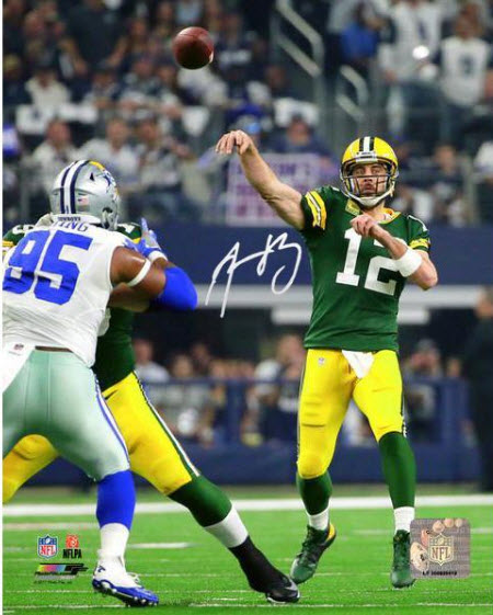 Signed Aaron Rodgers picture