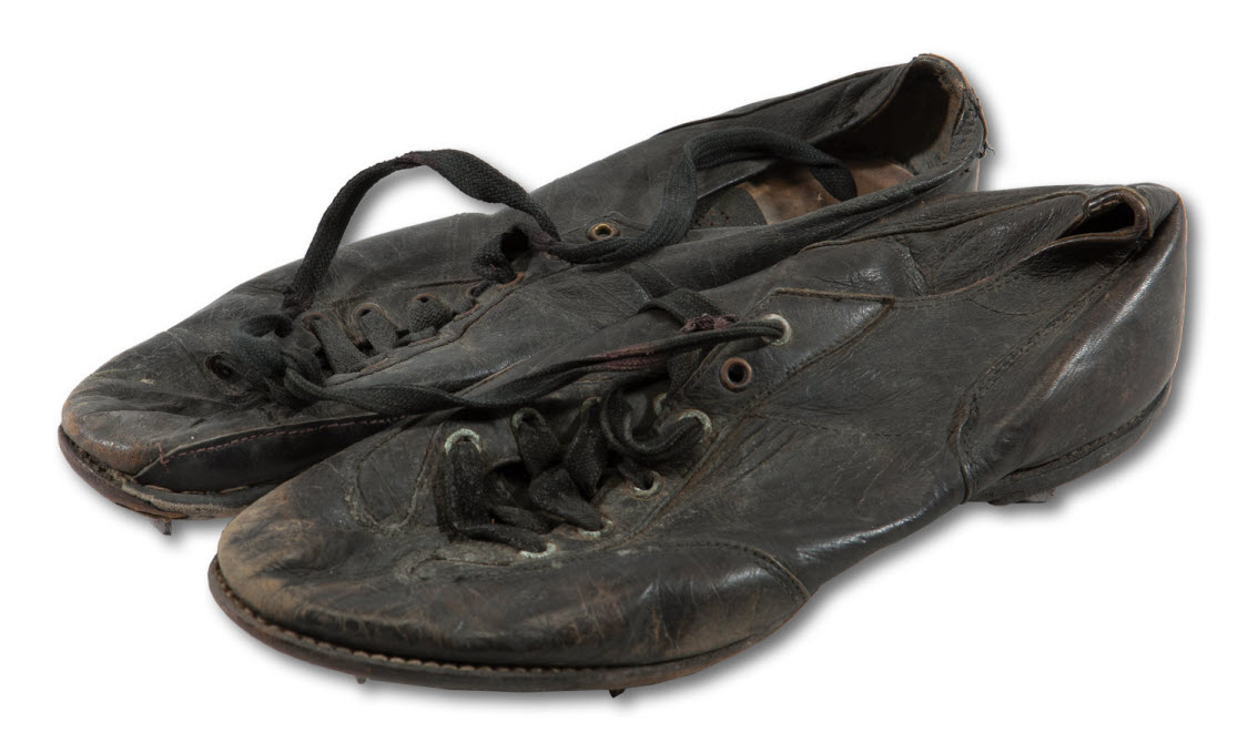Game used Mel Ott cleats