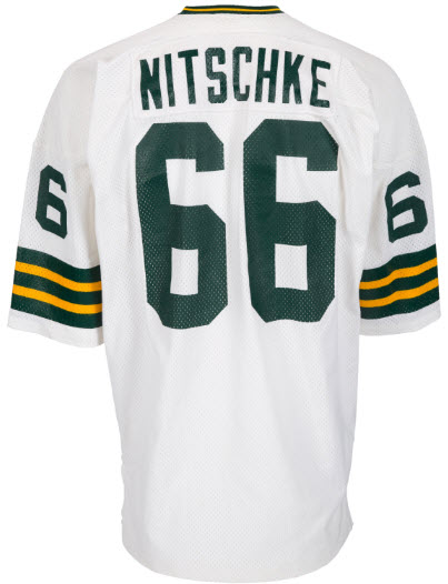 Ray Nitschke's Last Jersey Coming to Auction