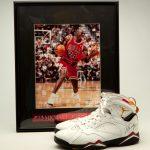Michael Jordan 1993 Nike Air Jordan VII Cardinal