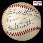 Babe Ruth inscribed baseball