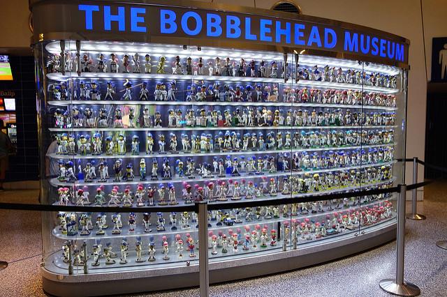 Jeffrey Loria bobblehead collection