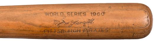 1960 World Series bat Roberto Momen Clemente