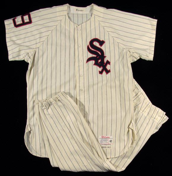 Game worn Billy Pierce White Sox uniform