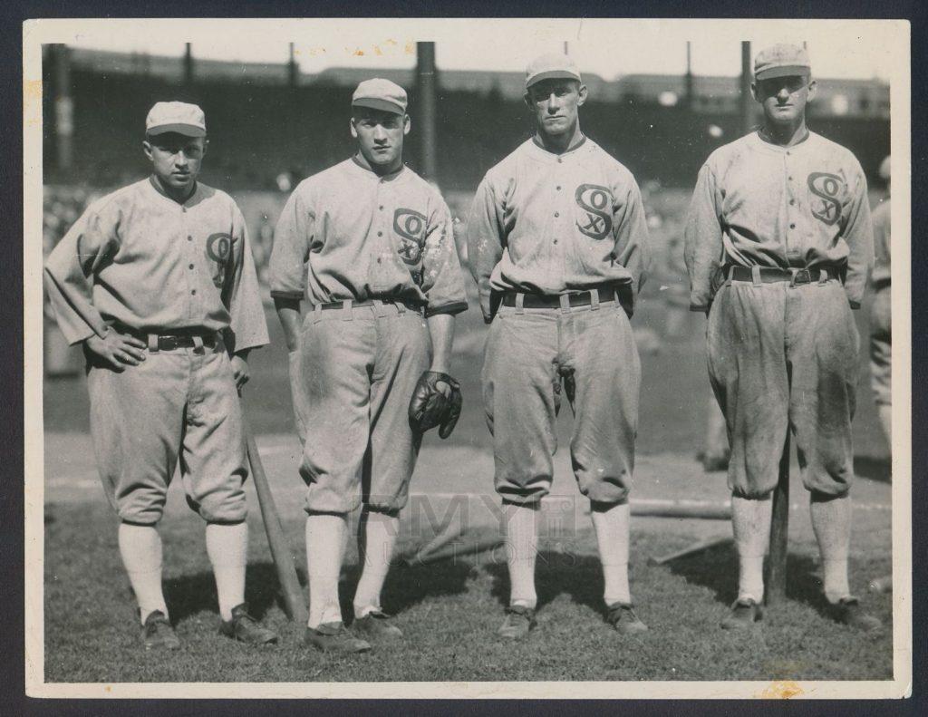 Chicago Black Sox outfield Joe Jackson 1919