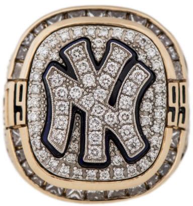 Dick Williams World Series ring 1999 Yankees