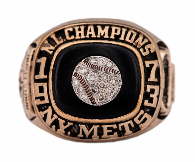 Rusty Staub Mets 1973 National League Championship ring