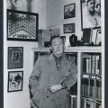 1957 photo Ty Cobb memorabilia room