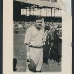 1921 World Series Babe Ruth George Grantham Bain photo